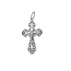 православный крестик серебряный