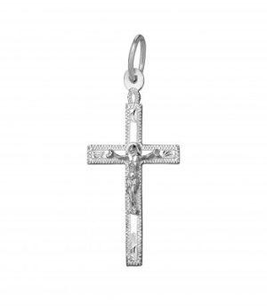 Крестик серебряный