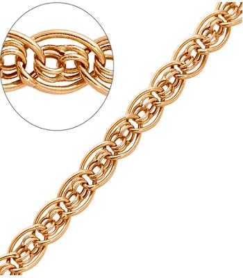 Плетение нонна золото