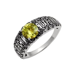 кольцо православное с фианитом