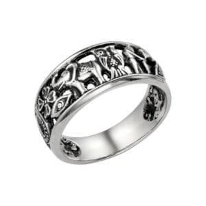 православное кольцо серебро