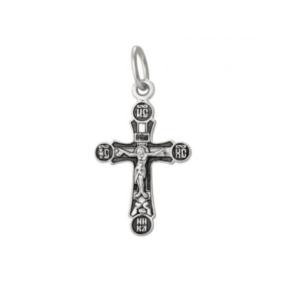 нательный крестик серебро