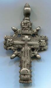 нательный крест 18 век