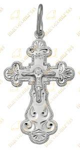 сребряный нательный крест
