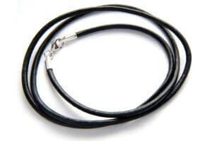кожаный шнурок черный