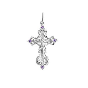 православный крестик из серебра