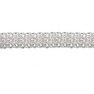 серебряный браслет ратник
