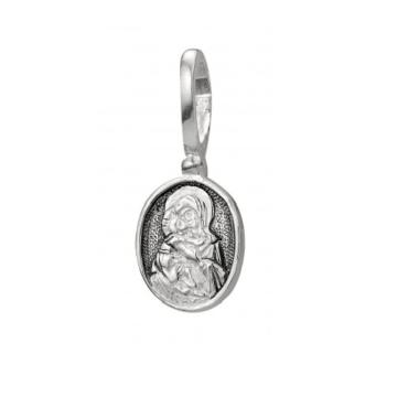 образок серебро Владимирская