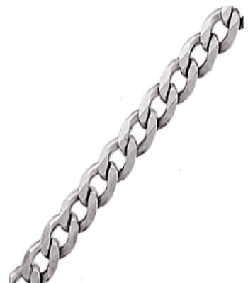 Цепь серебряная Панцирь