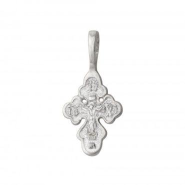 крестик серебро 925 пробы