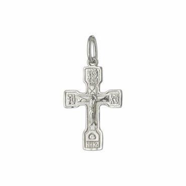 крест нательный из серебра