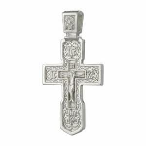 крест серебряный мужской