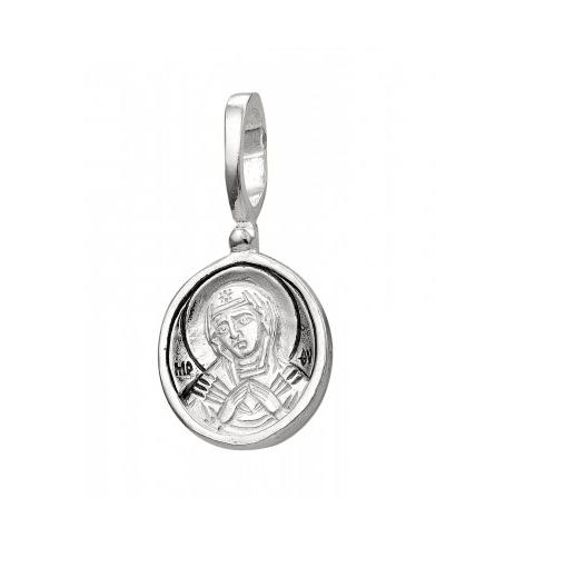 образок из серебра Семистрельная