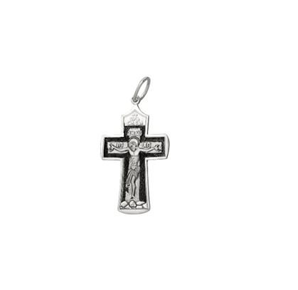 нательный крест из серебра