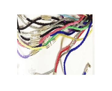 детский шнурок цветной для крестика