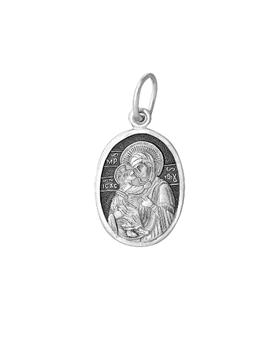 Образок серебряный Феодоровская