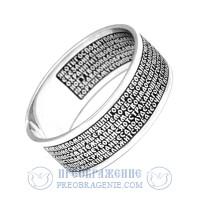 Серебряное кольцо 90 псалом